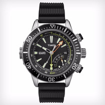 Relógio Timex Medidor Profundidade E Temperatura T2n810pl/ti