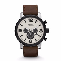 Relogio Fossil Jr1390 Nate Leather Sedex Gratis