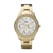 Relógio Feminino Dourado - Fes2861/z Fossil