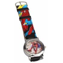 Relógio Do Homem Aranha Infantil.