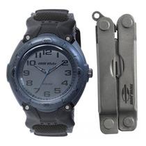 Kit Relógio Mormaii + Alicate Masculino Y0474/k8c