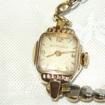 Relógio Pulso Feminino Corda Wittnauer 17 Rubis - Raridade