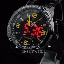 Relógio Pulso Weide Sports Led Digital Analógico Wh-1009- B6