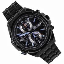 Relógio Casio Efr536bk Lindo Original Frete Grátis