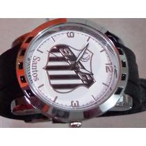 Relógio Masculino Time Do Santos Fc Frete Gratis Garantia