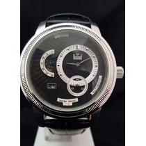 Relógio Masculino Dumont Automático Fundo Preto Sd50017o