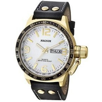 Relógio Magnum Sport Masculino Ma31542b Pulseira De Couro