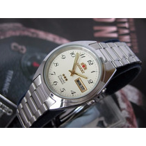 O R I E N T Relógio Orient Automatico Classico Aço Masculi
