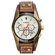 Relógio Masculino Fossil Coachman Ch2987/2xn Couro