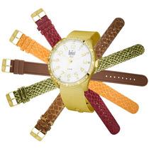 Relógio Dumont Feminino Bali Sk65157/b.