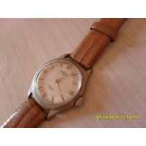 Relógio Antigo Suíço Aureole À Corda