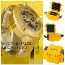 Invicta 5404 Original B.ouro Completo Na Caixa Sedex Grátis