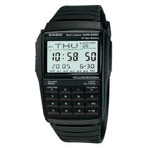 Relógio Casio Dbc-32-1adf Data Bank Calculadora Dbc32 Nf-e