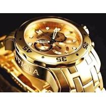 Lindo Relógio Invicta Pro Diver Scuba 0074 C Caixa