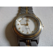 Relógio Feminino Cosmos Em Aço E Ouro