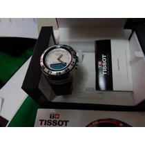 Relógio Tissot, Sailing-touch,safira,novo,pulseira Borracha.