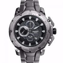 Relógio Orient Titanium - Mbttc011 - Garantia E Nf