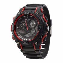 Relógio Mormaii Anadigi Mo12598/8r Promoçao Garantia Nf