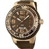 Relógio Masculino Everlast Esportivo 100 Mts Com Nf-original