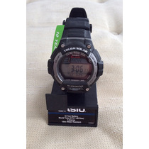 Relógio Casio Tough Solar ; Iluminator 10 Anos De Bateria