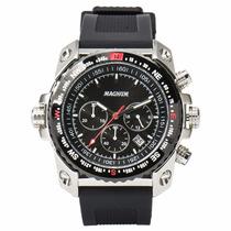 Relógio Magnum Cronógrafo Ma34209t - Garantia E Nf