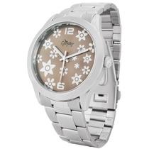 Relógio Condor New Feminino Kt26099c Aço Água 30m