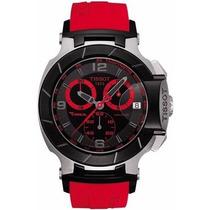 Relógio Tissot T-race Moto Gp Vermelho Original