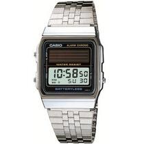 Relógio Casio Al 180 Retrô Bateria Solar Alarme Al180 Al 190
