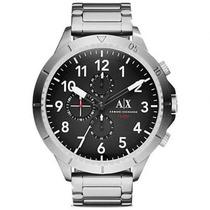 Relógio Masculino Armani Exchange Ax1750/1pn 48mm Prata