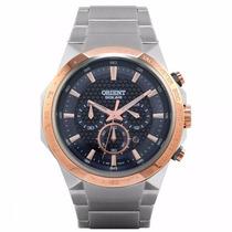 Relógio Orient Masculino Ref: Mtssc008 - Solar