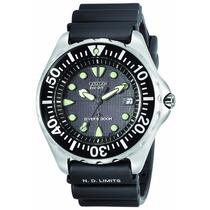 Relógio Citizen Aqualand Eco-drive Bn0000-04h 12 X Sem Juros