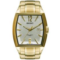 Relógio Masculino Orient Dourado Quadrado Ggss1014 S2kx