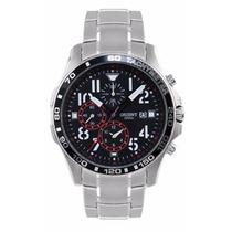 Relógio Orient Masculino Mbssc103 Cronógrafo Multifunção Top