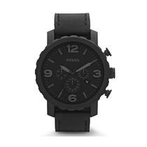 Relógio Masculino Fossil Nate Fjr1354/z Aço - Preto Fosco