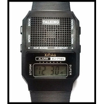 Relógio Deficiente Visual Fala Hora Português Revenda 10 Pçs