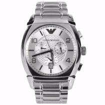 Relógio Emporio Armani Prata Ar0350 Original Frete Grátis