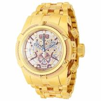 Relógio Invicta 13756 Bolt Zeus Reserve Skeleton Dourado
