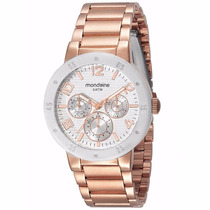 Relógio Feminino Mondaine Analógico Fashion 60454lpmgrs2