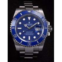 Relogio Eta Submariner Azul Prata Caixa Manual E T A