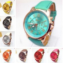 Relógio Feminino Geneva Platinum Frete Barato No Brasil