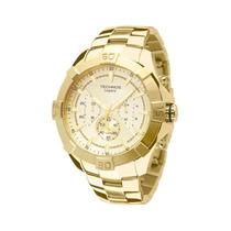 Relógio Technos Js20ah/4x - Cronógrafo Dourado 12x Sem Juros