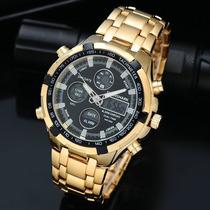Relógio Masculino Tiger Shark Luxo