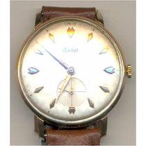 Relógio Eska, Folheado 18 Klts Oferta Lote 13-9316 Coleciona
