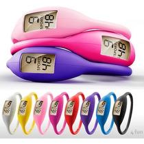 Mini Relógio De Silicone Coloridos A Prova Dagua