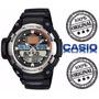 Relogio Casio Sgw 400h1b Prata Termometro Barômetro Altimetr