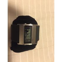 Relógio Nike Oregon Preto - Pulseira Borracha