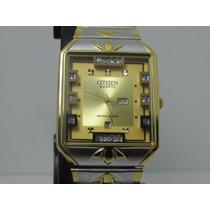 Relógio Citizen Hb8334-38q Luxo Dourado - Dia Dos Namorado