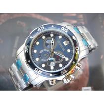 Relógio Invicta 0070 Pro Diver Scuba Cronografo Todo Aço