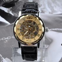 Relógio Importado Winner Skeleton Mecânico Super Oferta