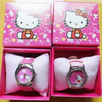 Relógio Infantil Hello Kitty Na Caixa Importado No Brasil